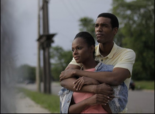 "Parker Sawyers and Tika Sumpter in ""Southside With You"""