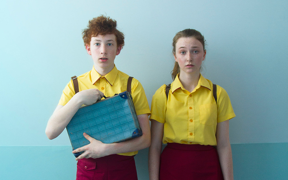 "Bethany Whitmore and Harrison Feldman in ""Girl Asleep"""