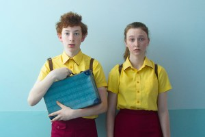 "Bethany Whitmore and Harrison Feldman in ""Girl Asleep"""