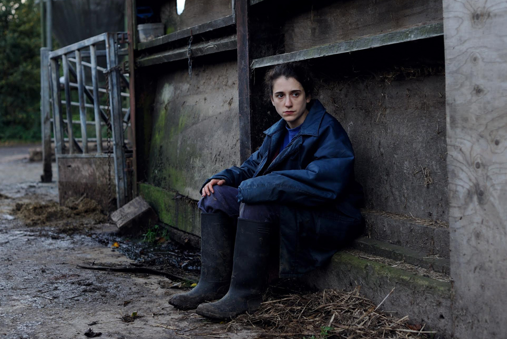 """Ellie Kendrick in """"The Levelling"""""""