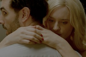 "Louis Cancelmi and Mackenzie Davis in ""Memory Box"""