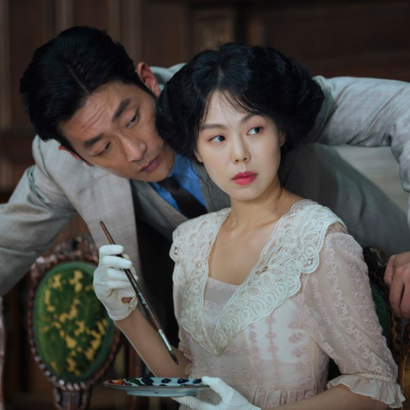 "Ha Jung-woo and Kim Min-hee in ""The Handmaiden"""