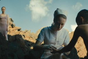 "A scene from Lucile Hadžihalilović's ""Evolution"""