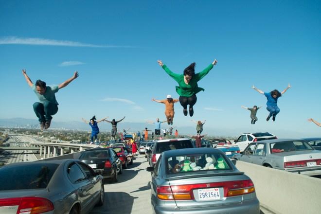 """A scene from Damien Chazelle's """"La La Land"""""""