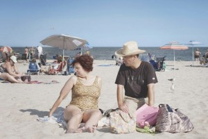 """Dina Buno and Scott Levin in """"Dina"""""""