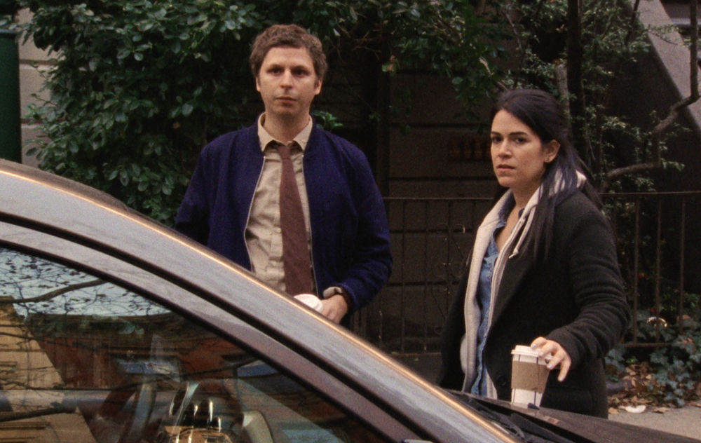 """Michael Cera and Abbi Jacobson in """"Person to Person"""""""