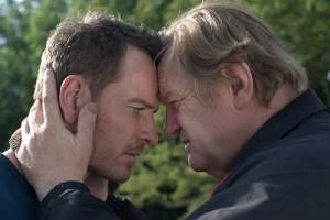 "Michael Fassbender and Brendan Gleeson in ""Trespass Against Us"""