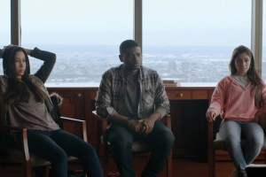 """Octavia Chavez-Richmond, J. Mallory McCree and Raquel Castro in """"From Nowhere"""""""
