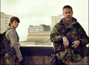"Gemma Arterton and Paddy Considine in ""The Girl With All the Gifts"""