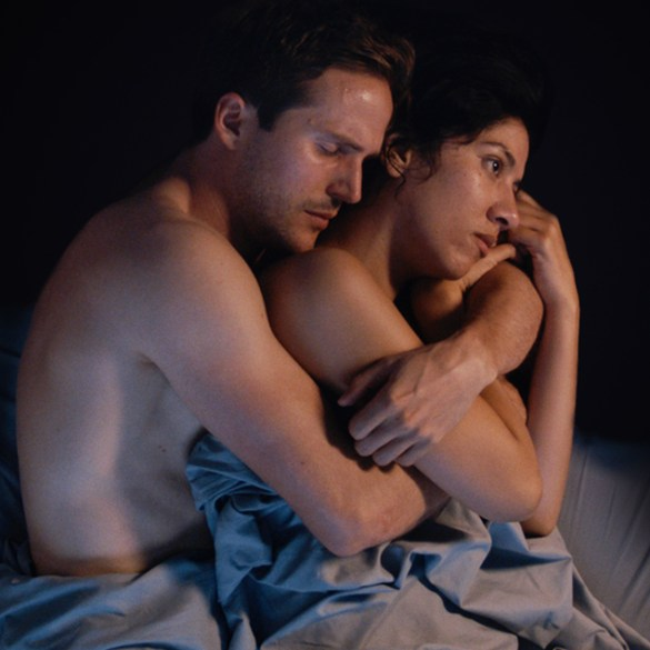 """Michael Stahl David and Stephanie Beatriz in """"The Light of the Moon"""""""