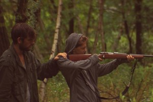 "Alex Pettyfer and James Freedson-Jackson in ""The Strange Ones"""
