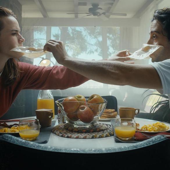 "Matt Bush and Renee Felice Smith in ""The Relationtrip"""