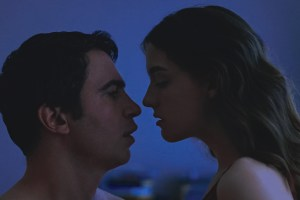 "Chris Messina and Quinn Shephard in ""Blame"""
