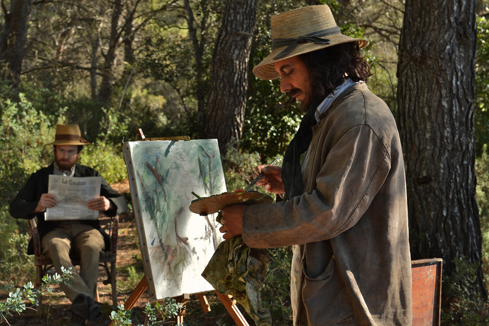 """Guillaume Gallienne and Guillaume Canet in """"Cezanne Et Moi"""""""