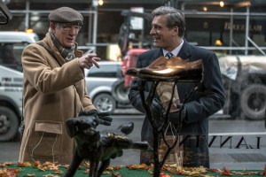 """Richard Gere and Lior Ashkenazi in """"Norman"""""""