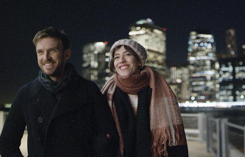 """Dan Stevens and Rebecca Hall in """"Permission"""""""