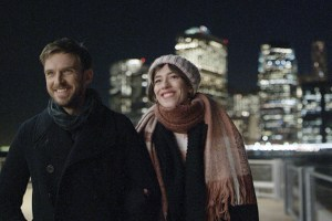 "Dan Stevens and Rebecca Hall in ""Permission"""