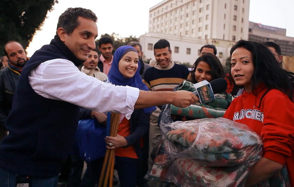 "Bassem Youssef in ""Tickling Giants"""