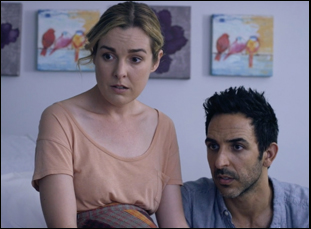 "Anna Margaret Hollyman and Amir Arison in ""20 Weeks"""