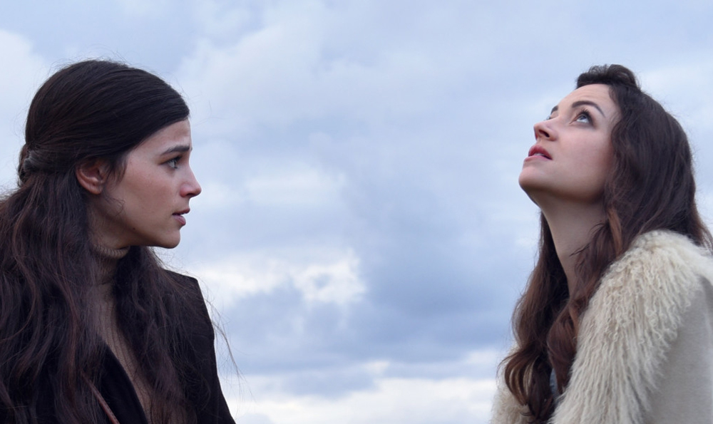 """Joy Rieger and Nelly Tagar in """"Past Life"""""""