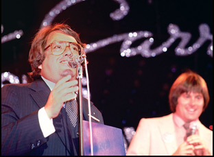"Allan Carr and Bruce Jenner in ""The Fabulous Allan Carr"""