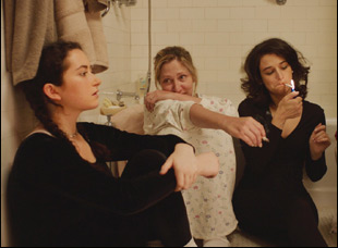 "Abby Quinn, Edie Falco and Jenny Slate in ""Landline"""