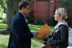 "Stanley Tucci and Addison Timlin in ""Submission"""