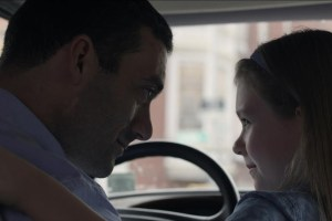 "Morgan Spector and Ursula Parker in ""Man with Van"""