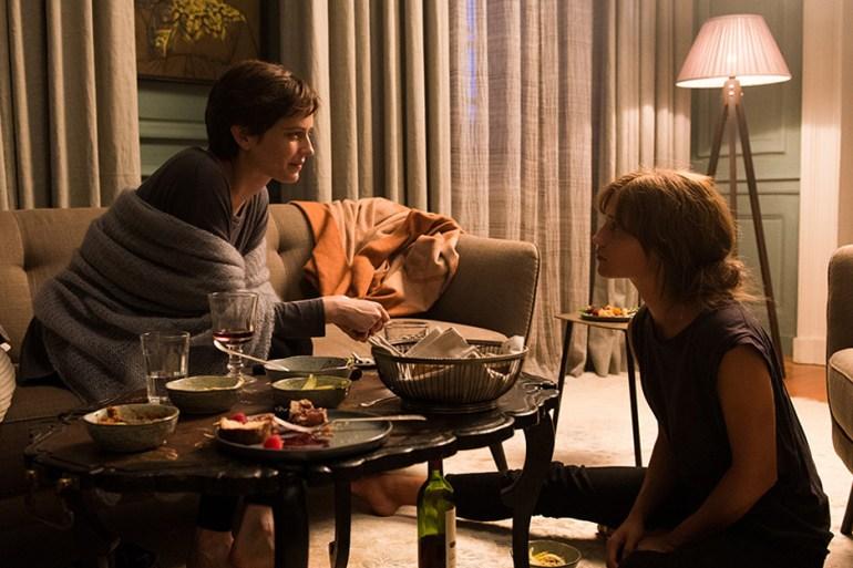 """Eva Green and Alicia Vikander in """"Euphoria"""""""