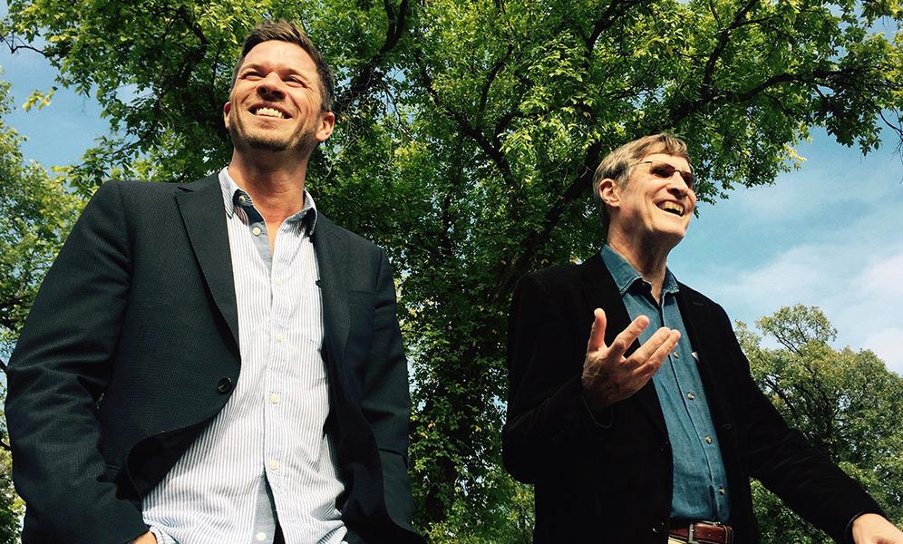 "Matt Embry and Ashton Embry in ""Living Proof"""