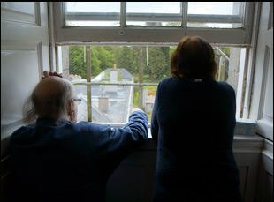 "John and Amanda Leyden of Headfort in ""School Life"""