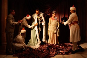 "Hugh Bonneville and Gillian Anderson in ""Viceroy's House"""
