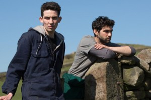 """Alec Secareanu and Josh O'Connor in """"God's Own Country"""""""