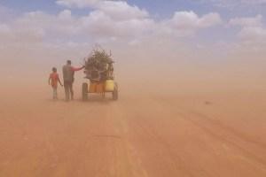 "A scene from Ai Weiwei's ""Human Flow"""