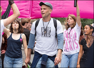 "Arnaud Valois in ""Beats Per Minute"""