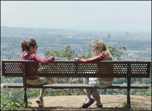 "Dree Hemingway and Michelle Morgan in ""It Happened in L.A."""