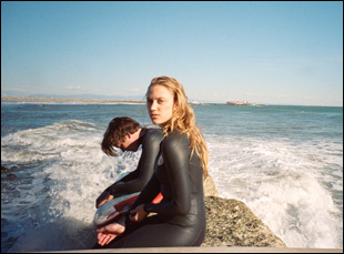 """Maika Monroe and Cody Fern in """"Tribes of Palos Verdes"""""""