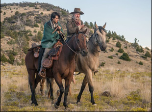 """Bill Pullman and Diego Josef in """"The Ballad of Lefty Brown"""""""