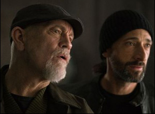 "John Malkovich and Adrien Brody in ""Bullet Head"""
