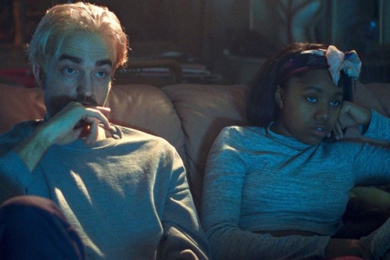 """Robert Pattinson and Taliah Webster in """"Good Time"""""""