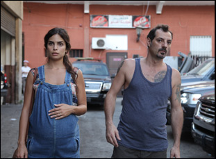 "Adel Karam and Rita Hayek in ""The Insult"""