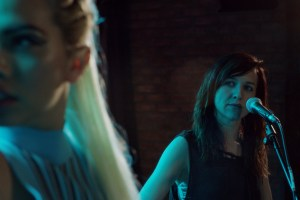 "Lena Hall and Hayley Kiyoko in ""Becks"""