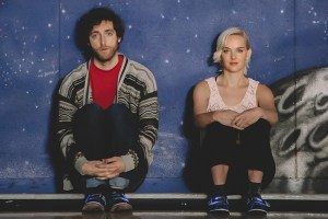 "Thomas Middleditch and Jess Weixler in ""Entanglement"""