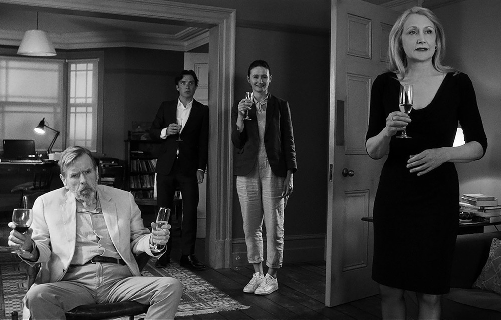 """Emily Mortimer, Timothy Spall, Cillian Murphy and Patricia Clarkson in """"The Party"""""""