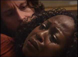 """Christine Horn and Jonny Mars in """"Rogers Park"""""""