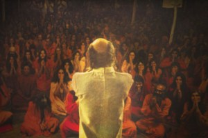 "Baghwan Rajneesh in ""Wild Wild Country"""