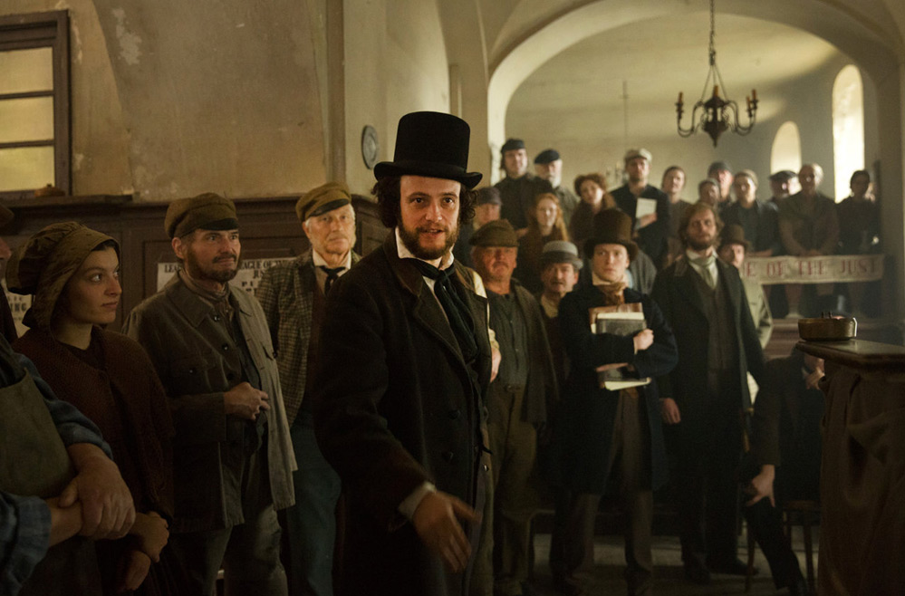 """August Diehl in """"The Young Karl Marx"""""""