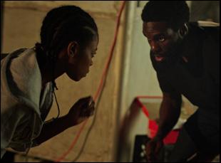 """Elvire Emanuelle and Yahya Abdul-Mateen in """"First Match"""""""