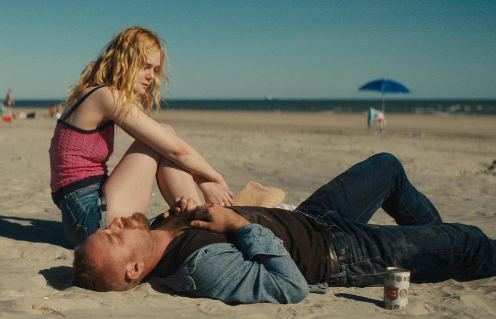 "Elle Fanning and Ben Foster in ""Galveston"""