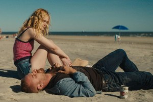 "Elle Fanning and Ben Foster in ""Galveston"""
